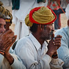Old Men Smoking Ganja in Pushkar, India