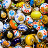 Hand Painted Ceramic Drawer Knobs Pushkar, India