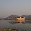 Jal Mahal palace in Man Sagar Laie in Jaipur.