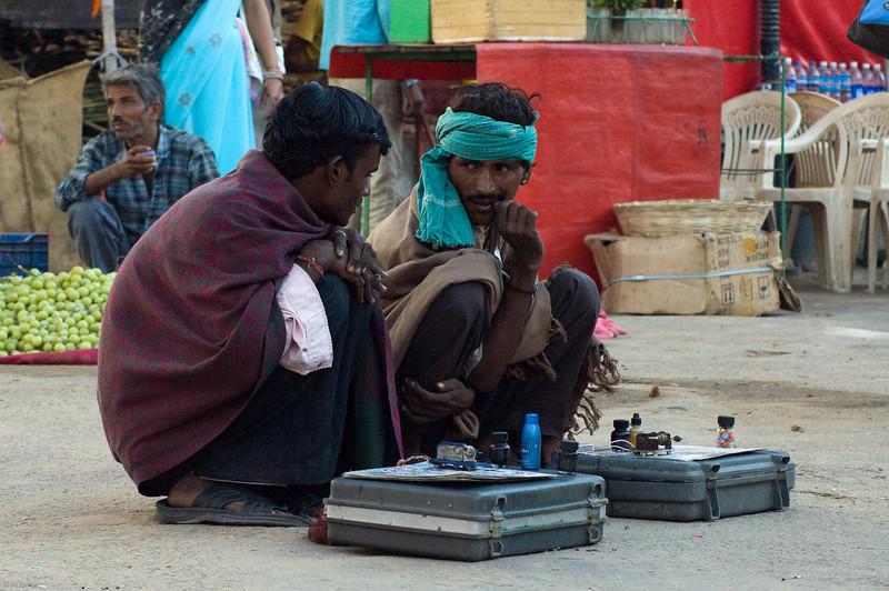 Street Tattoo Artists<br /> Pushkar, India