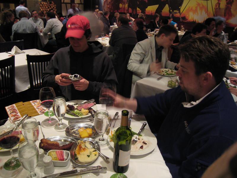 Mmm Brazilian BBQ. A PyCon tradition.