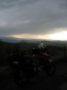 Boy did it rain for about 2 hours solid, back in France and heading towards Carcassone