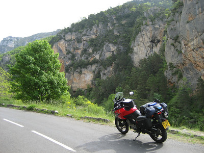 This and the next 3 pictures are the Tarn Gorge, really fantastic place, incredible scenery