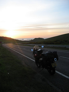 Going Down to Dover at 0530 in the morning very cold