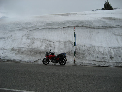 Now that is what i call snow !!!! and this was May 10th
