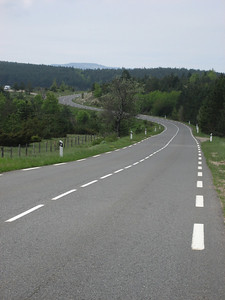 The Cervennes, it went on like this for about 50km, best biking road that i have been on
