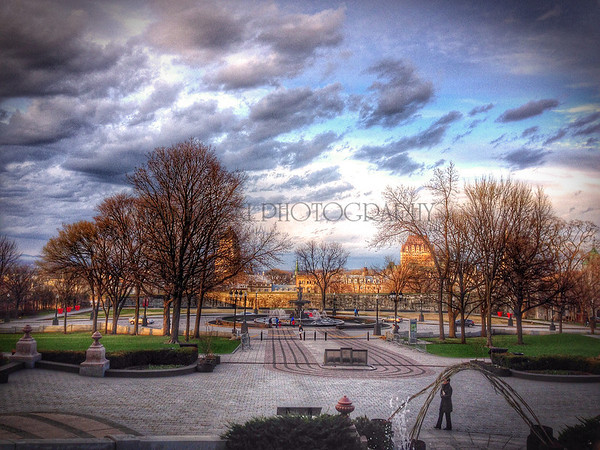 VIEW FROM PARLIMENT BUILDING, iPHONE 5