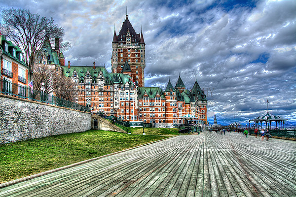 QUEBEC BOARDWALK