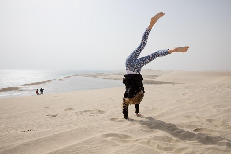 Timea Jarosova desert Qatar