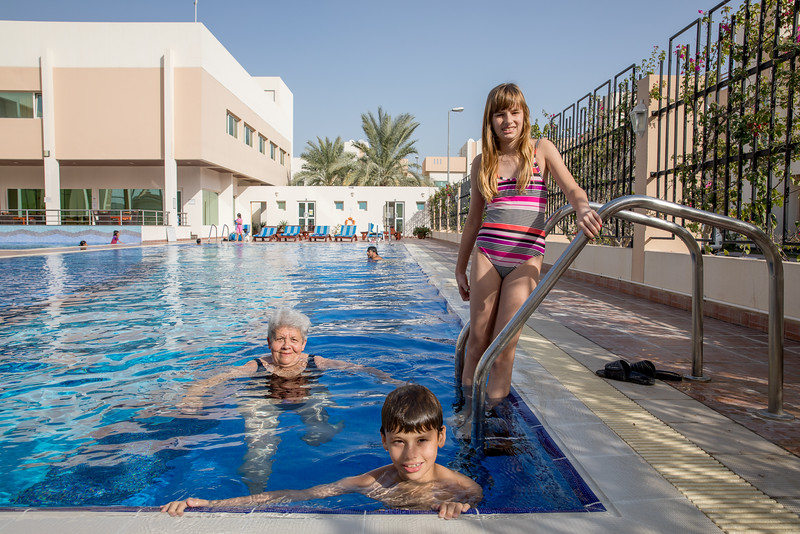 Al Jazi Village 2 compound pool