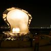 Pearl monument along Doha's Corniche.