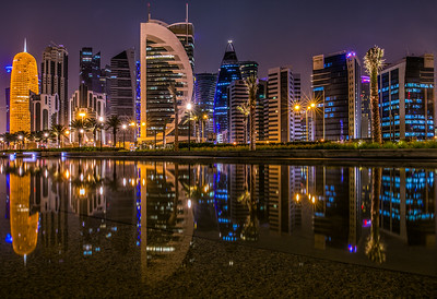 The City block of Doha