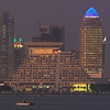 Doha hotels: Sheraton and Four Seasons.