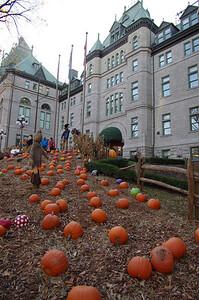Halloween à l'Hôtel de Ville de Québec