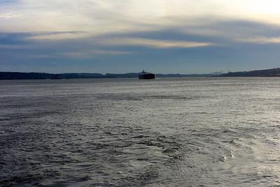 Navigation sur le Saint-Laurent à Québec