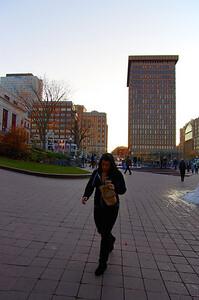 Fin d'après-midi à Québec. Une belle lumière pour la capitale de La Belle Province.