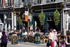 Crowded restaurant, Rue St. Jean