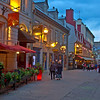 """Soir dans la ville de Quebec""  (Evening in Quebec City)"