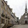 Place Royal and  Notre-Dame Des Victoires in Lower Old Town.