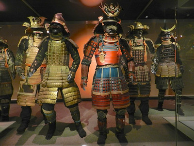 Samurai exhibit at Museum of Civilization