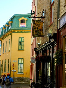 Typical Quebec Street