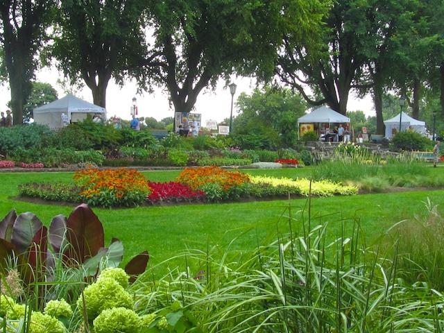 Plains of Abraham park and art show