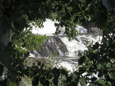 Another view of the falls