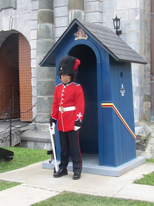 Guard at Citadelle of Quebec