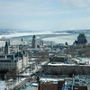 Québec City, capital of the province of Québec, overlooking the St.Lawrence River.