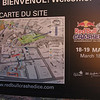 Red Bull Crashed Ice course:  from Château Frontenac to Lower Town.