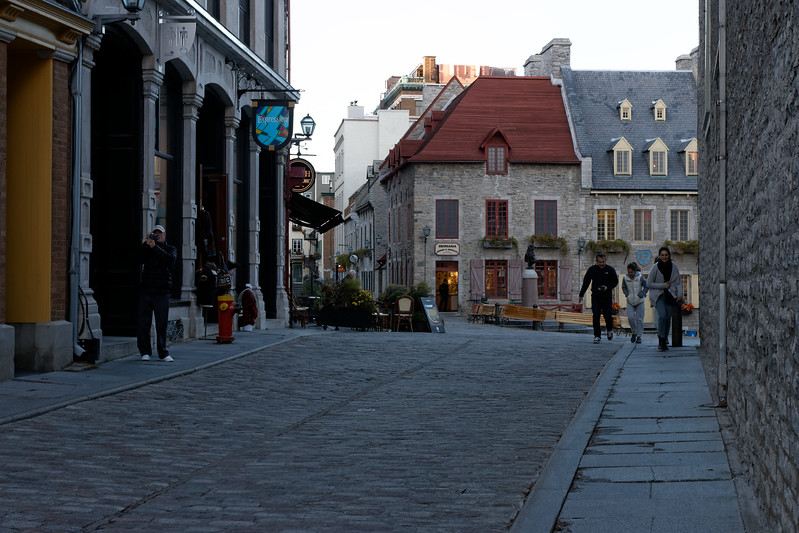 Sights around Old Quebec City......
