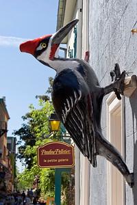 Shop Sign, rue du Petit-Champlain