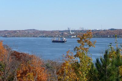 Saint Lawrence River from Parc Aquarium du Québec
