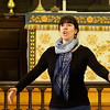 Genevieve Levesque rehearsing at Holy Trinity