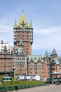 Chateau Frontenac from Terrasse Dufferin