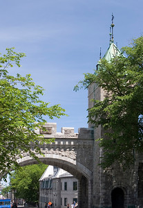 Old Wall Arch, rue Saint-Louis, Quebec City