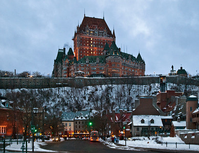 Snow Covered Quebec City