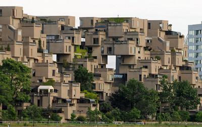 Montreal apartments Habitat 67