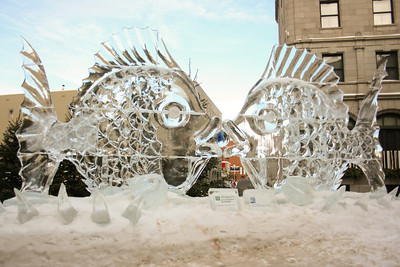Ice and snow sculptures 2009
