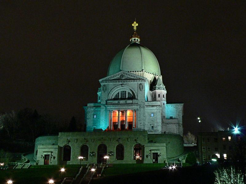 The oratory of St. Joseph.