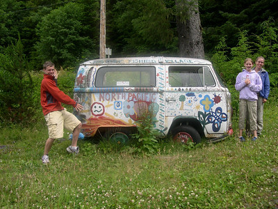 The kids picked out a new van.