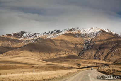 Entering Cardrona access road