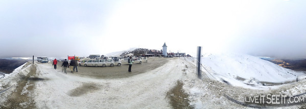 iPhone 360 Panorama at Cardrona carpark on a cloudy day. Interactive here: http://360.io/JdRujw
