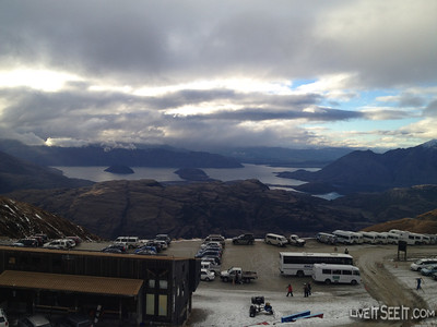 Lake Wanaka from Treble Cone base