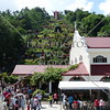 Church and Hands of Jesus (Kamay ni Hesus) Shrine in Lucban, Quezon, Philippines.