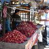Fruit vendor in Quezon province, Philippines.