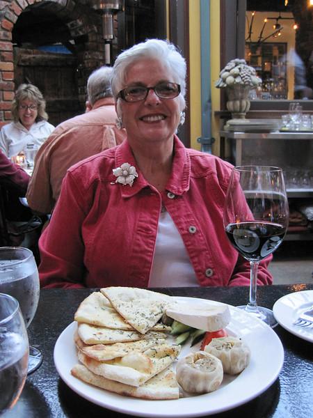 We ate our anniversary dinner at a favorite spot in Victoria, Il Terrazzo.