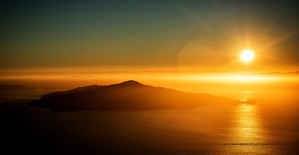 Angel Island Sunrise
