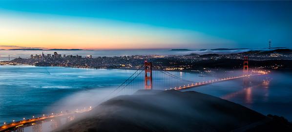 A Golden Gate Sunrise