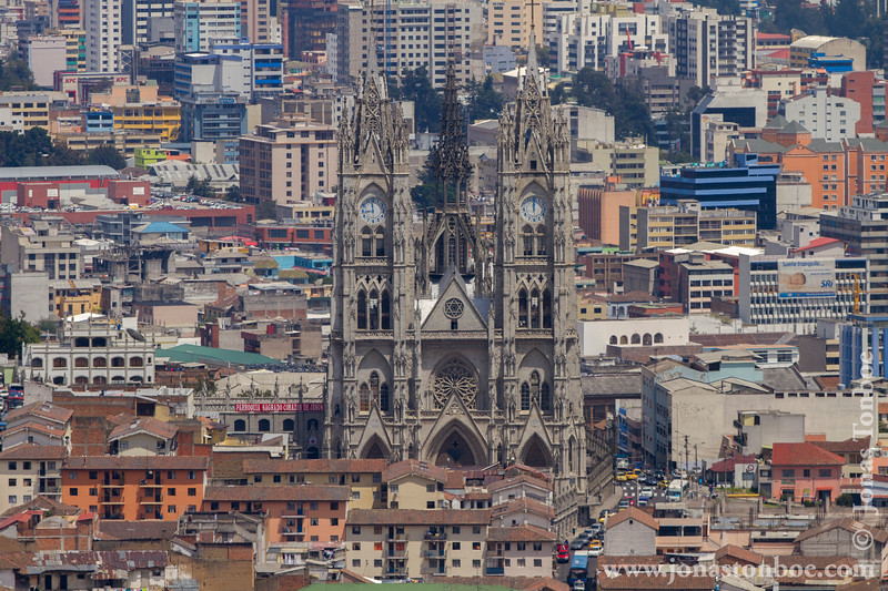 Basilica del Voto Nacional and City
